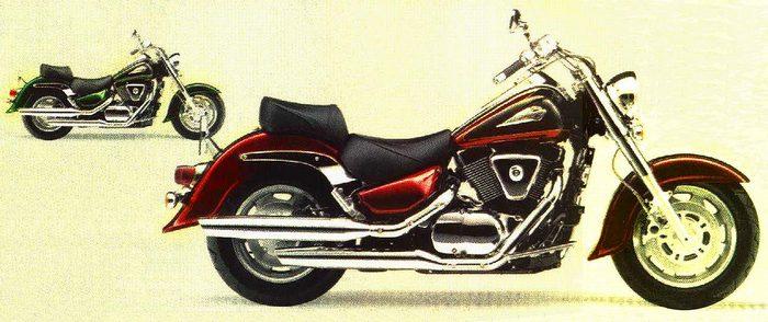 Suzuki LC 1500 INTRUDER 2003 - 12