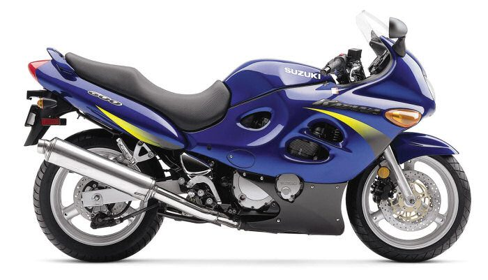 Suzuki GSX-F 600 2003 - 4
