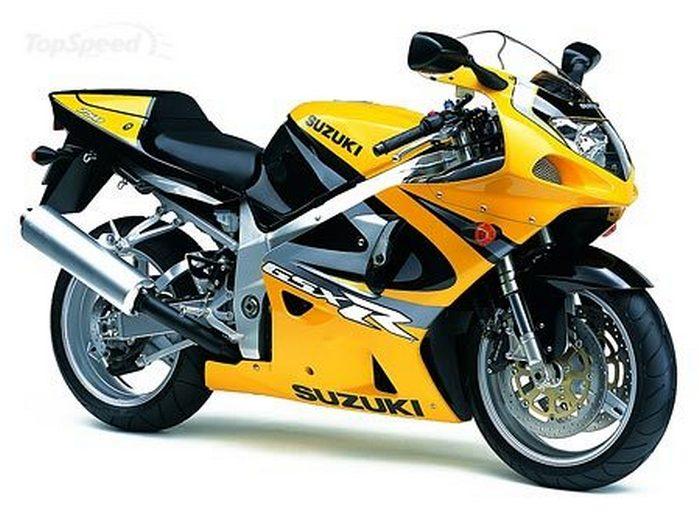 Suzuki 750 GSX-R 2003 - 11