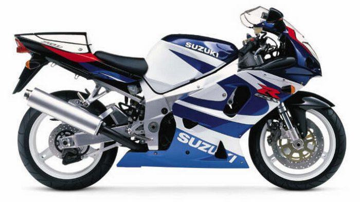 Suzuki 750 GSX-R 2003 - 4