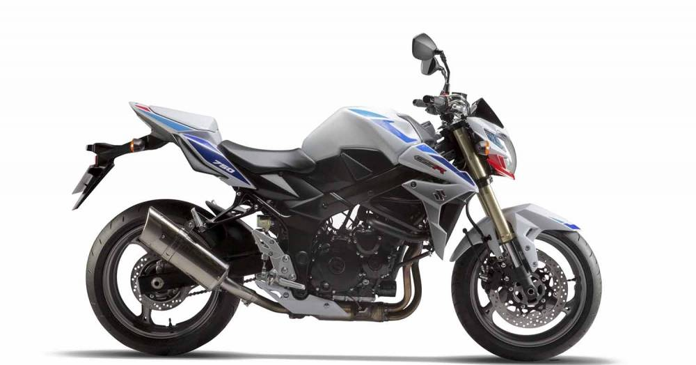 miniature Suzuki GSR 750 One Edition 2013 - 9