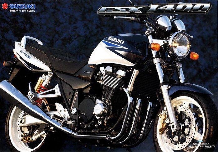 Suzuki GSX 1400 2003 - 4