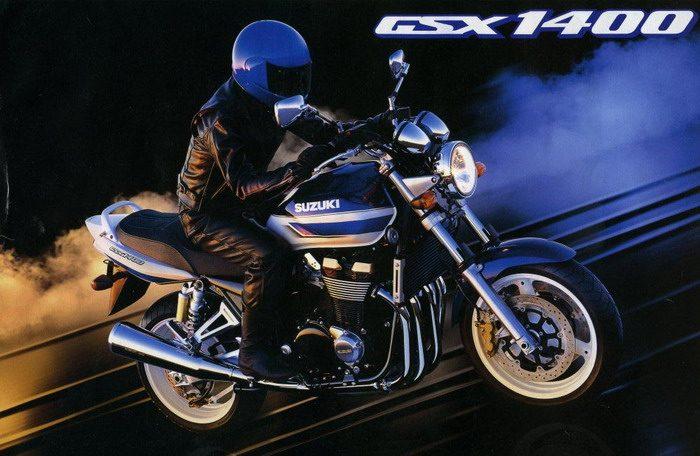 Suzuki GSX 1400 2003 - 2