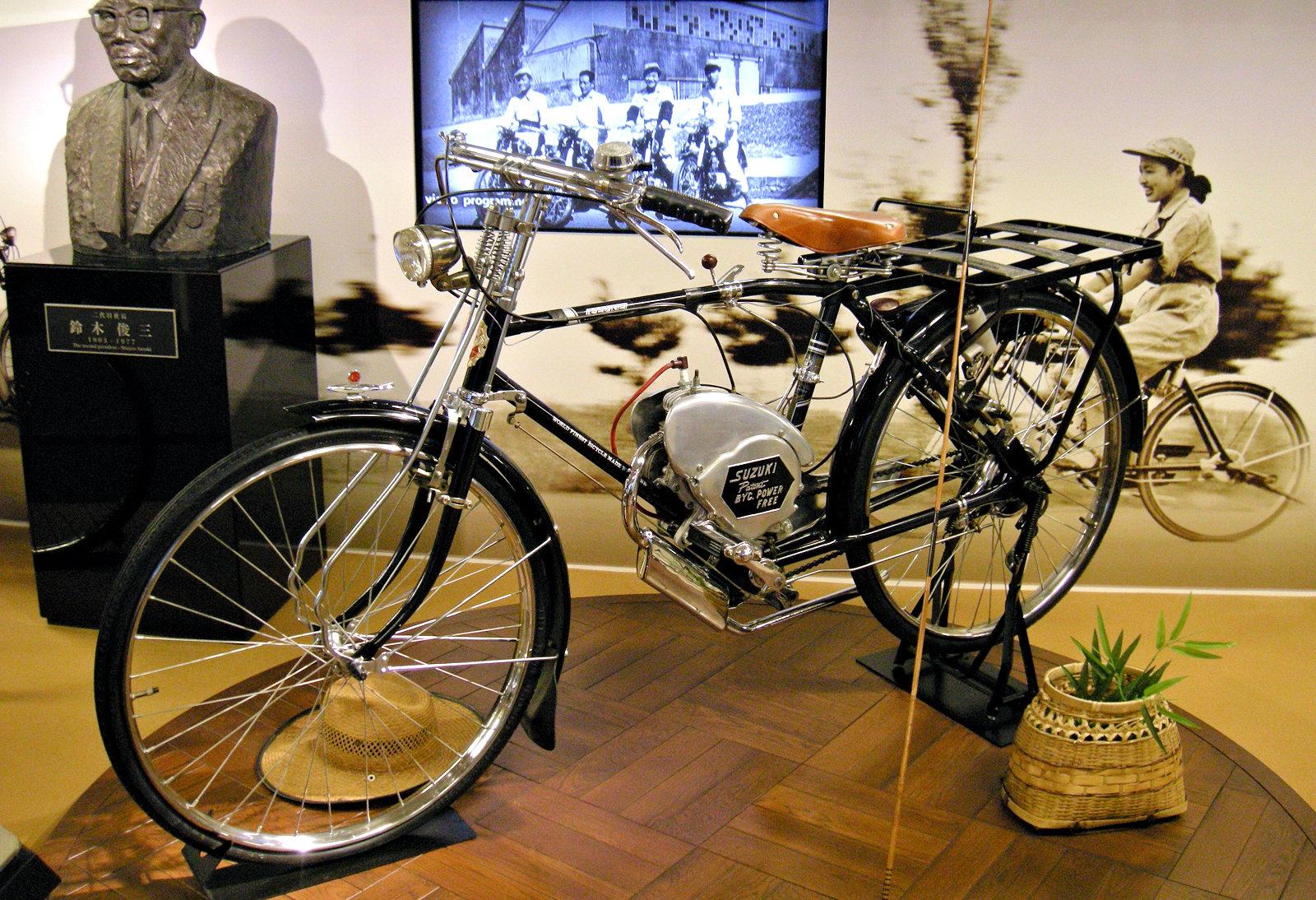 Suzuki Power Free 1952 - Fiche moto - Motoplanete