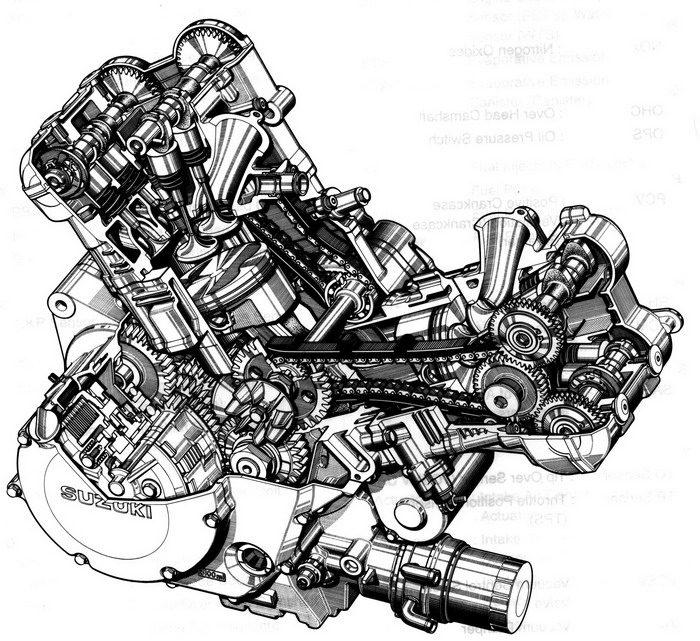 Suzuki TLR 1000 2003 - 9