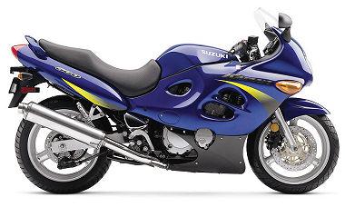 GSX-F 600 2001