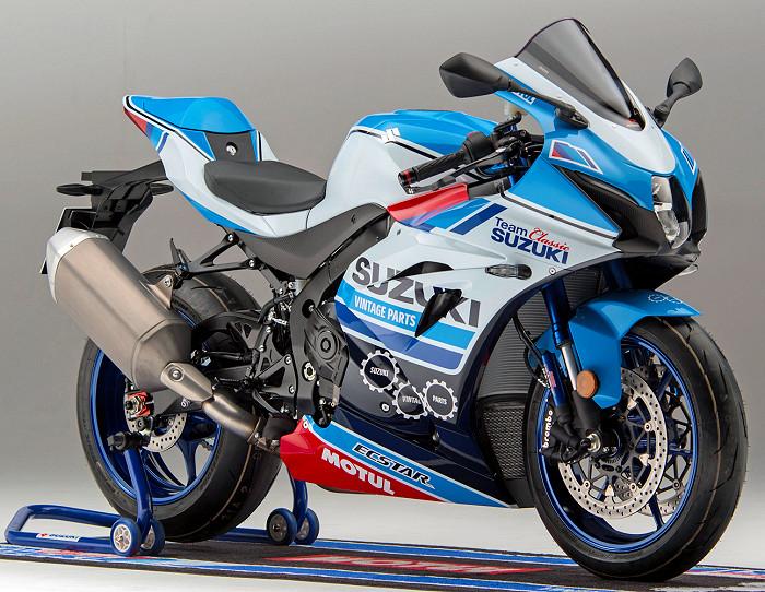 Suzuki Gsx R 1000 R Team Classic 2018 Fiche Moto Motoplanete
