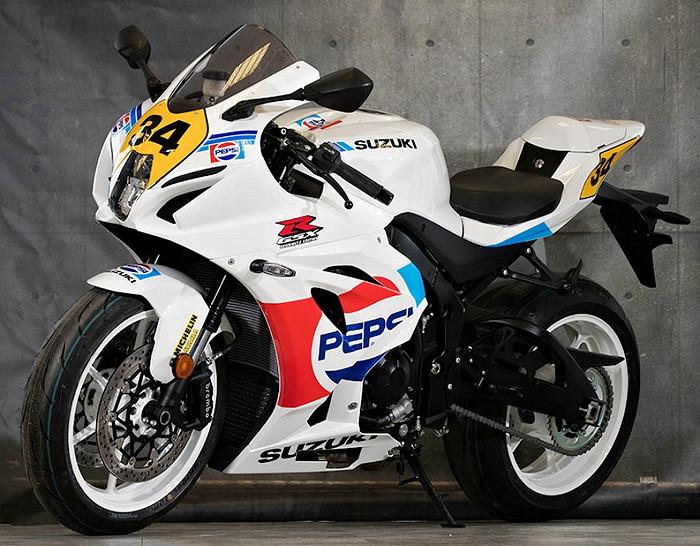 Suzuki GSX-R 1000 Pepsi GP Edition