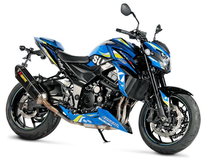 suzuki gsx s 750 motogp 2018 fiche moto motoplanete. Black Bedroom Furniture Sets. Home Design Ideas
