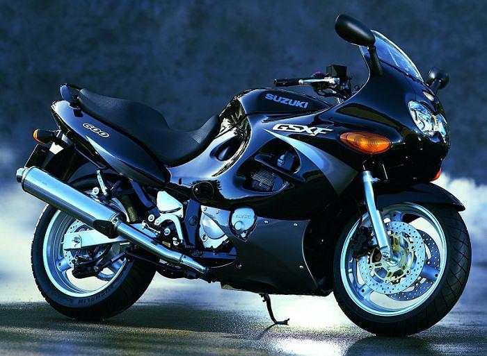 Suzuki Gsxf Colors
