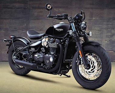 Triumph 1200 BONNEVILLE BOBBER Black