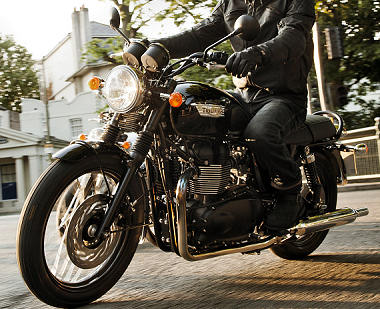 Triumph 865 Bonneville T 100 Black 2014 Fiche Moto Motoplanete