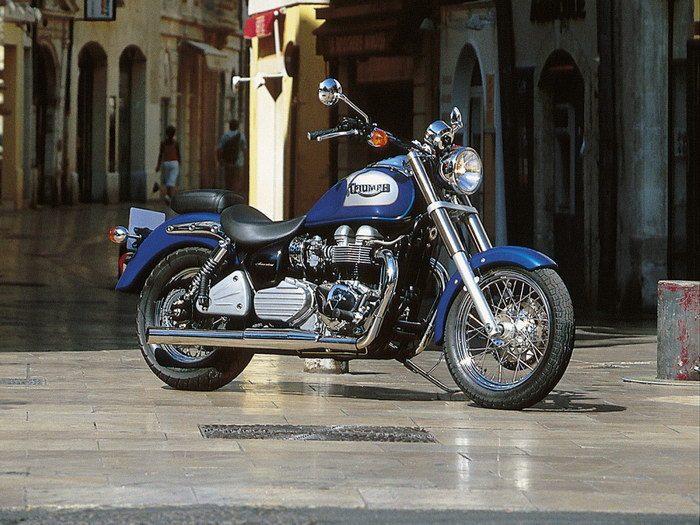 Triumph 800 BONNEVILLE AMERICA 2001 - 9