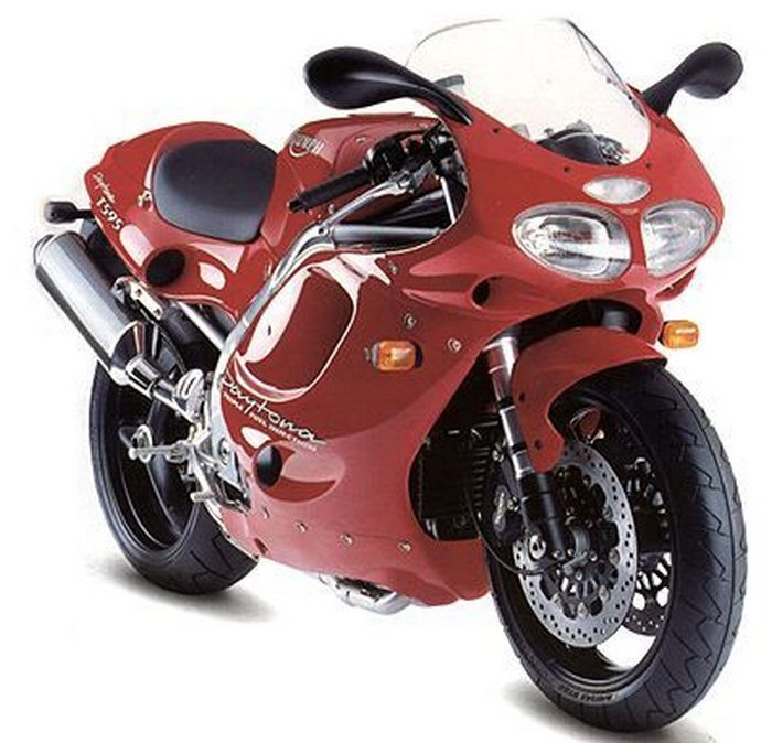 Triumph 955 Daytona T595 1998 Fiche Moto Motoplanete