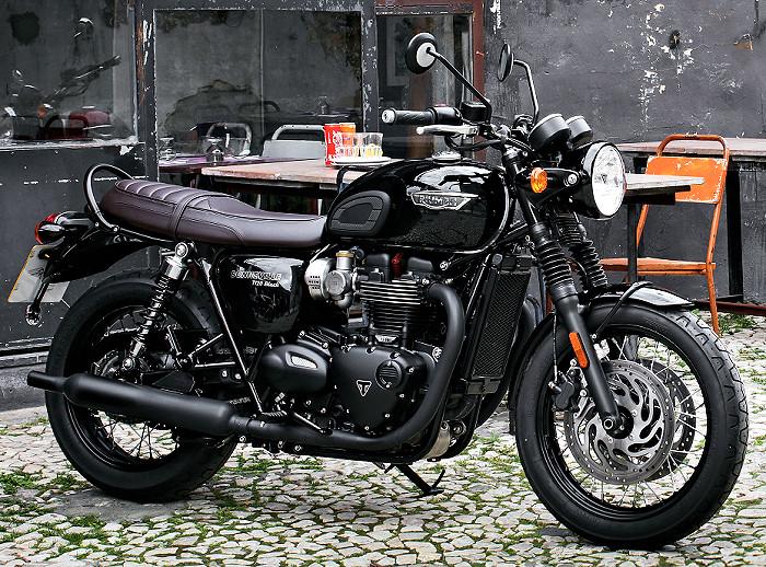 Triumph 1200 Bonneville T 120 Black 2018 Fiche Moto Motoplanete
