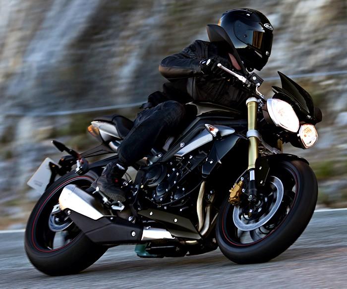 Triumph Street Triple 35kw Idea Di Immagine Del Motociclo