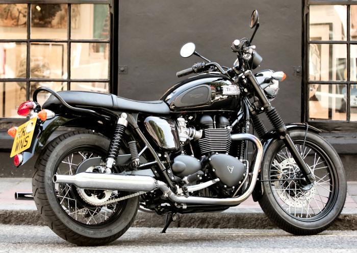 Triumph 865 Bonneville T 100 Black 2015 Fiche Moto Motoplanete