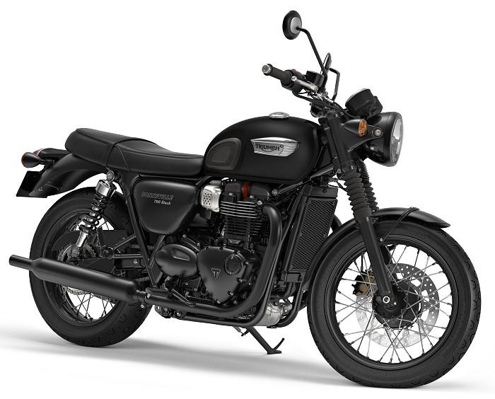 Triumph 900 Bonneville T 100 Black 2018 Fiche Moto Motoplanete