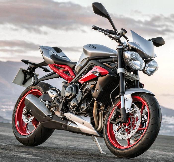 Triumph 675 Street Triple Rx 2015 Fiche Moto Motoplanete