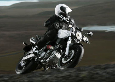 moto Yamaha MT-03 2006