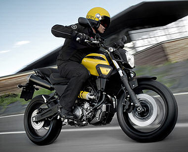 moto Yamaha MT-03 2009
