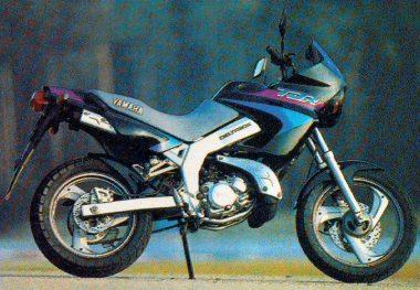 yamaha 125 tdr 1994 fiche moto motoplanete. Black Bedroom Furniture Sets. Home Design Ideas