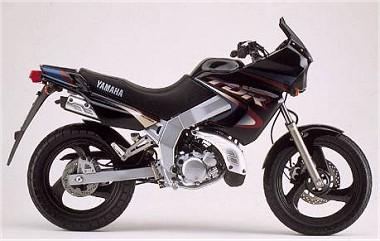 yamaha 125 tdr 1996 fiche moto motoplanete. Black Bedroom Furniture Sets. Home Design Ideas