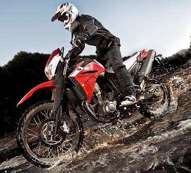moto Yamaha XT 660 R 2009
