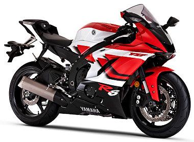 Yamaha YZF-R6 600 20�me anniversaire 2019