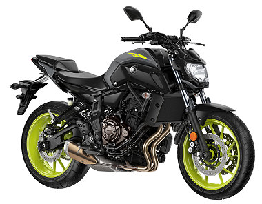 Yamaha 700 MT-07 2018