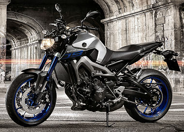 moto Yamaha MT-09 850 2015