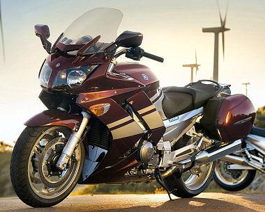 moto Yamaha FJR 1300 AS et S2007