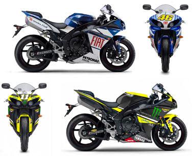 Yamaha YZF-R1 1000 MotoGP Replica