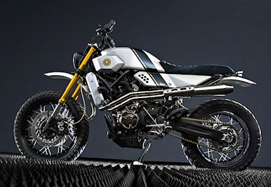 Yamaha XSR 700 Yard Built - Bunker Custom Motorcycles - 2016
