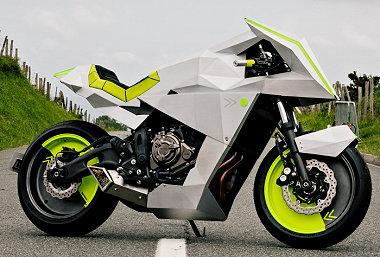 Yamaha XSR 700 Yard Built - The Outrun -