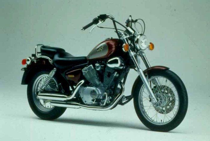 yamaha xv 125 virago 1996 galerie moto motoplanete. Black Bedroom Furniture Sets. Home Design Ideas