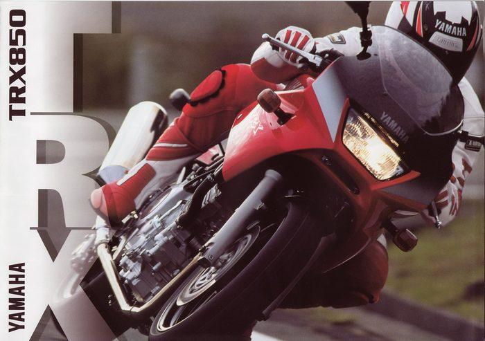 Yamaha 850 TRX 1999 - 8