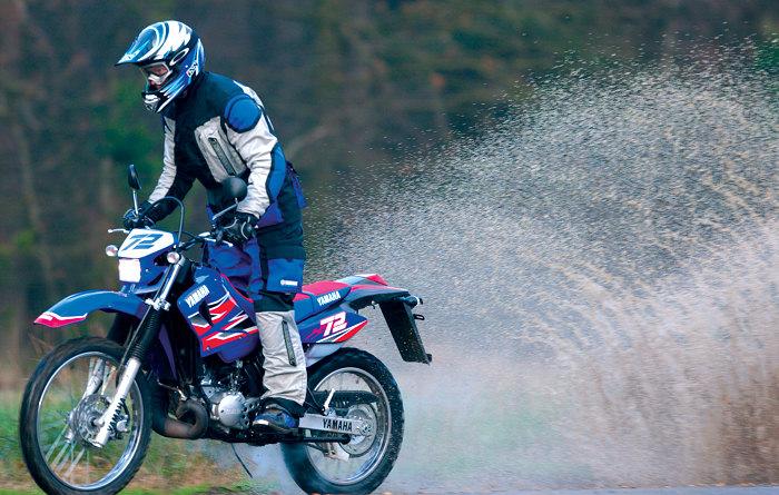 Yamaha DTR 125 MX EVERTS 2005 - Fiche moto - Motoplanete
