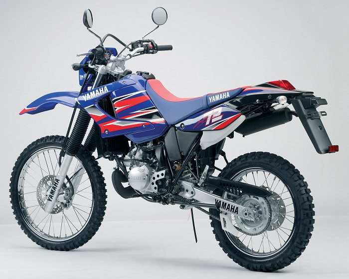 miniature Yamaha DTR 125 MX EVERTS 2005 - 7