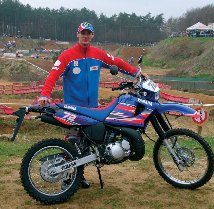 miniature Yamaha DTR 125 MX EVERTS 2005 - 4