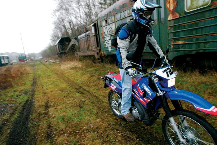 Yamaha DTR 125 MX EVERTS 2005 - 2