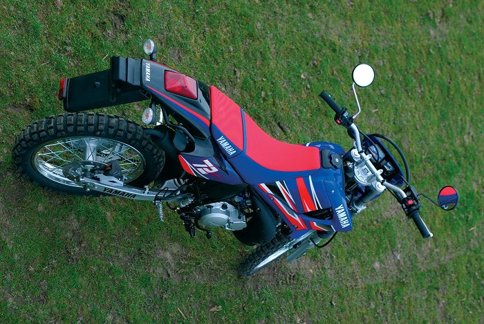 miniature Yamaha DTR 125 MX EVERTS 2005 - 5