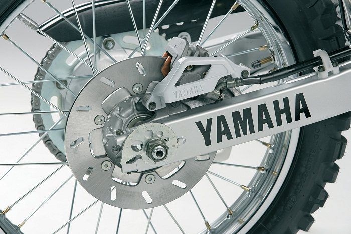 miniature Yamaha DTR 125 MX EVERTS 2005 - 11