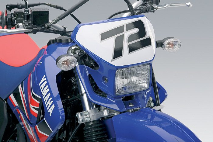miniature Yamaha DTR 125 MX EVERTS 2005 - 9