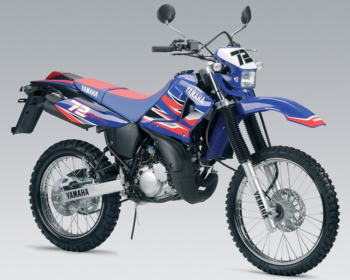 miniature Yamaha DTR 125 MX EVERTS 2005 - 6