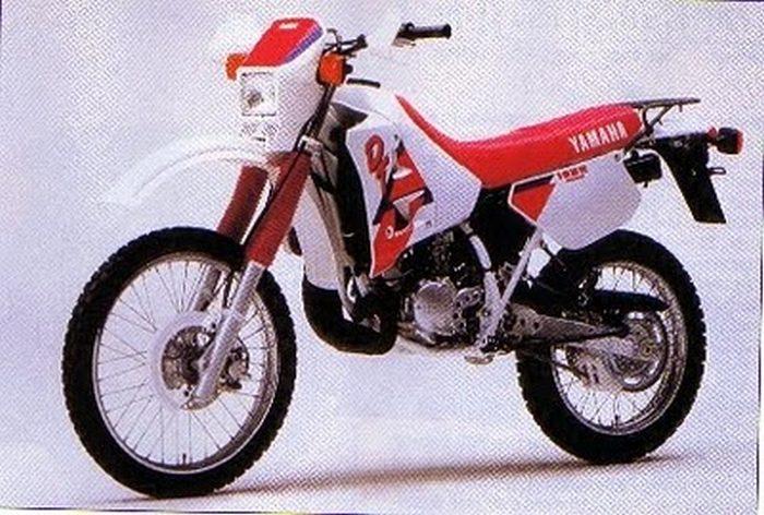 yamaha dtr 125 1989 galerie moto motoplanete. Black Bedroom Furniture Sets. Home Design Ideas