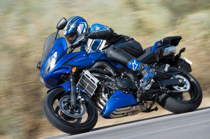 Yamaha FZ6 600 FAZER S2 2007 - 18