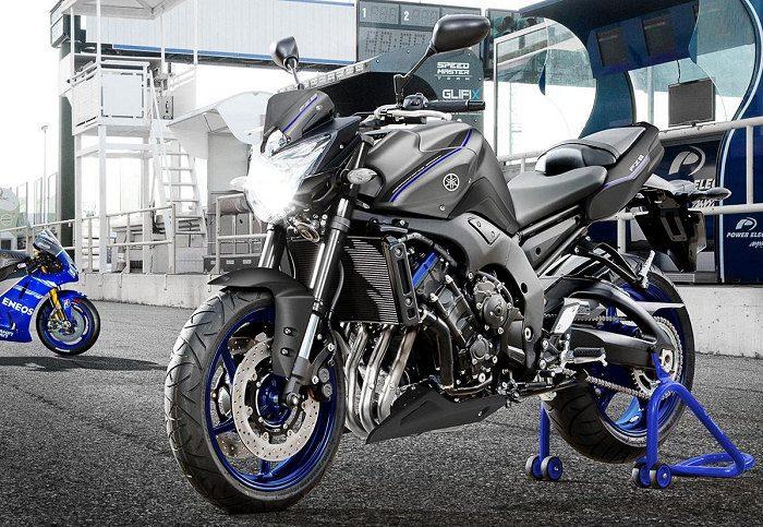 Yamaha 800 FZ8 Race Blu 2013 - 11