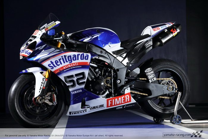 miniature Yamaha YZF-R1 1000 Factory SUPERBIKE 2010 - 3