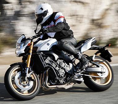 moto Yamaha 800 FZ8 2011